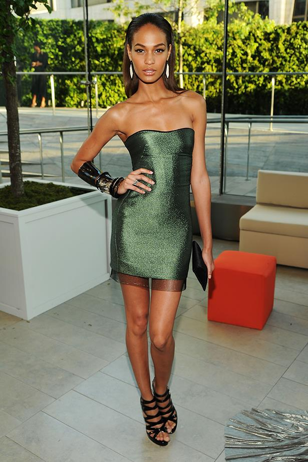 <p><strong>Model mention</strong></p> <p><strong>Joan Smalls</strong></p> <p>Yes, she gets paid the big bucks to look incredible, but her finger-on-the-pulse style earns a top spot.</p> <i>Images: At the CFDA Fashion Awards.</i>
