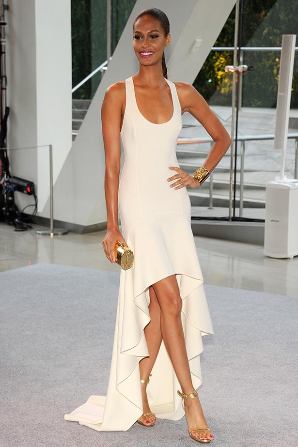<p><strong>Model mention</strong></p> <p><strong>Joan Smalls</strong></p> <i>Image: Wearing Michael Kors at the CFDA Fashion Awards.</i>