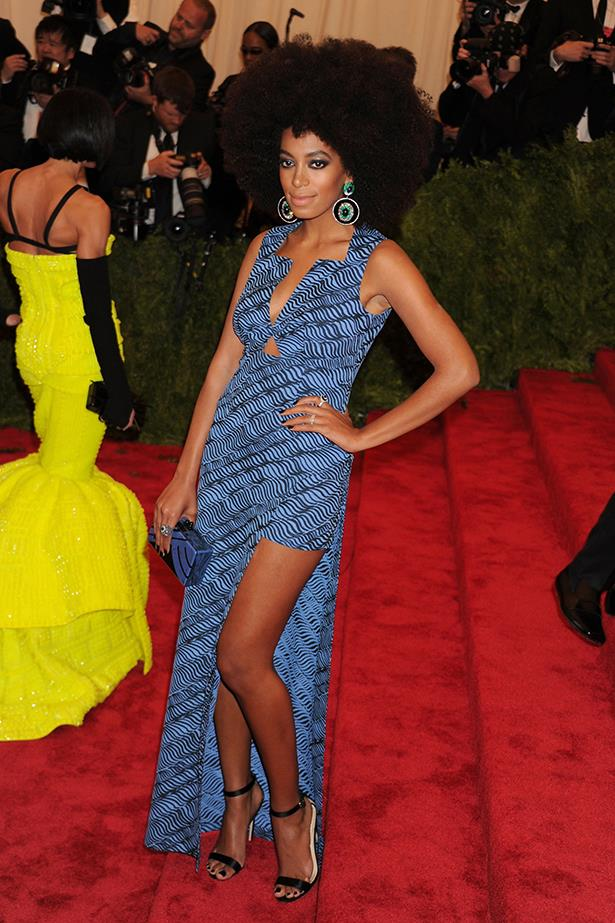 <p><strong>Independent spirit award</strong></p> <p><strong>Solange Knowles</strong></p> <i>Image: Wearing Kenzo at the Met Gala.</i>