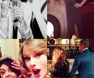 Celebrity New Year's Eve Snaps