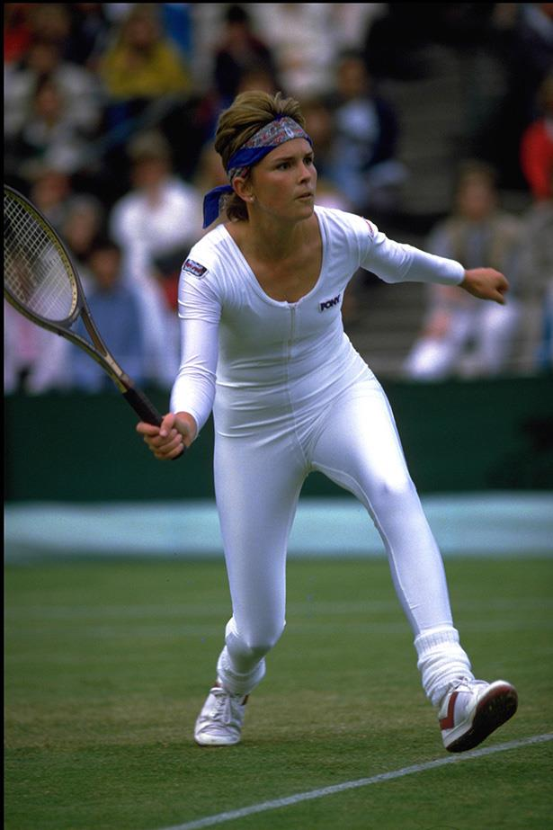 "It seems Anne White was ahead of her time with the lycra onesie in 1985. ""I had no idea it would be so controversial. It wasn't my intention, as I took my tracksuit off, for anyone to spill their strawberries and cream. "" Hey, at least she kept with the colour code. And, yes, officials told her to wear something else the next day."