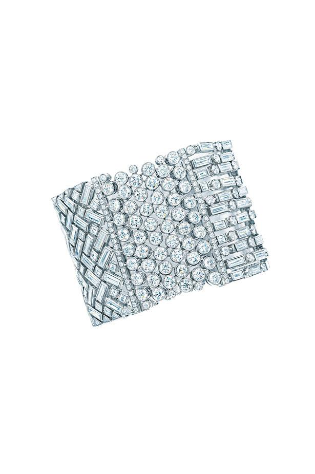 """<p>Tiffany's couture-cool cuff is fit for a  modern-day Audrey Hepburn, our pick is Rooney Mara with her sleek coiff, fine features and a penchant for a little black dress.</p> <p>Bracelet, $374,500, Tiffany & Co., <a href=""""http://www.tiffany.com.au"""">tiffany.com.au</a></p>"""