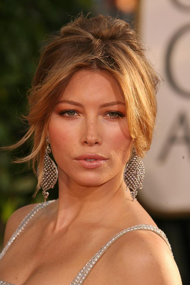Jessica Biel at the 64th Annual Golden Globes in 2007.