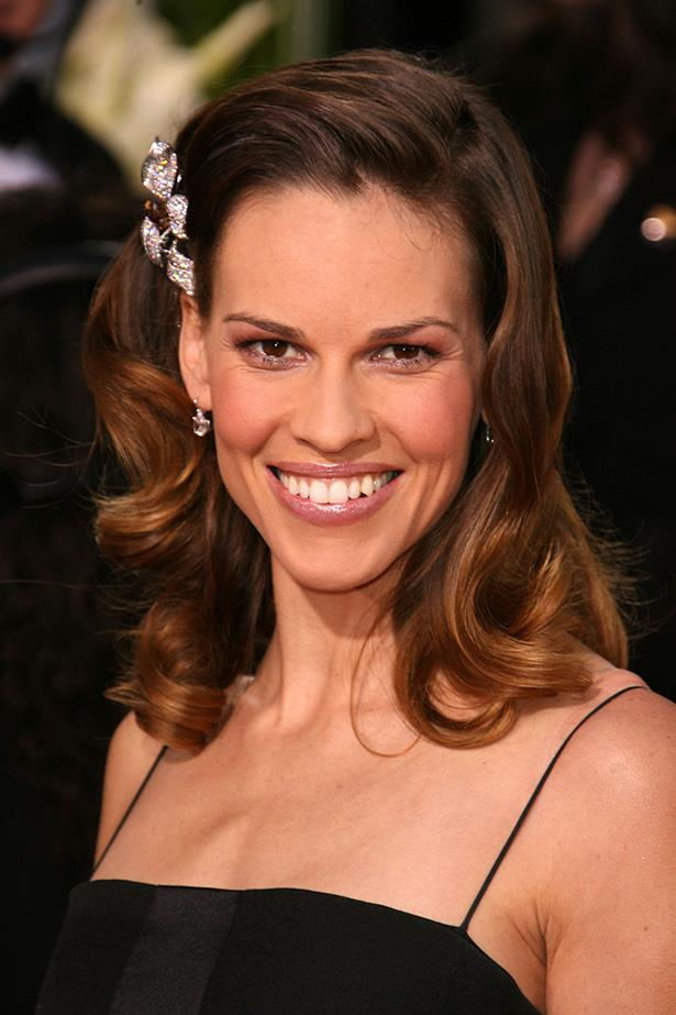 Hilary Swank at the 64th Annual Golden Globes in 2007.