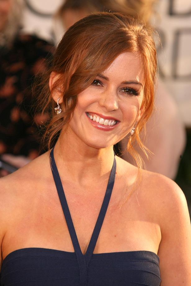 Isla Fischer at the 64th Annual Golden Globes in 2007.