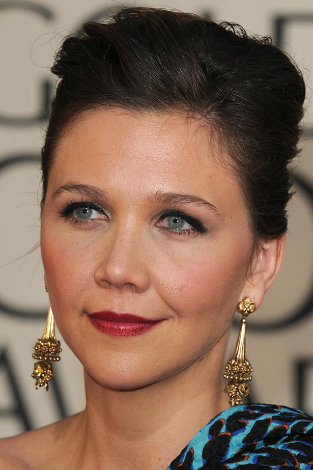 Maggie Gyllenhaal at the 66th Annual Golden Globes in 2009.