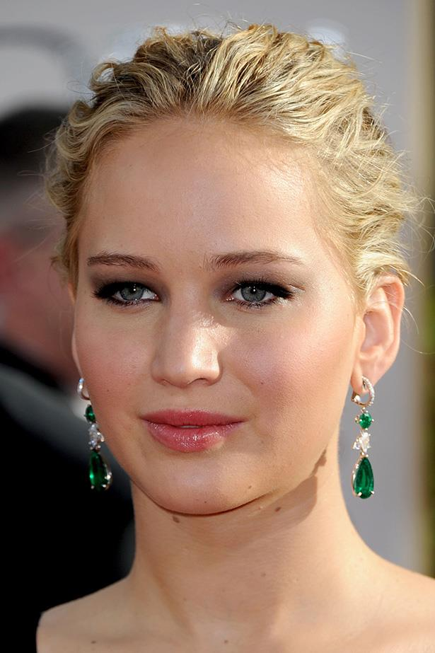 Jennifer Lawrence at the 68th Annual Golden Globes in 2011.