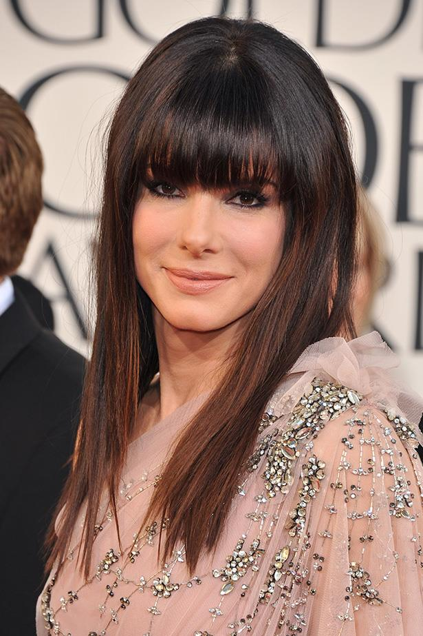 Sandra Bullock at the 68th Annual Golden Globes in 2011.