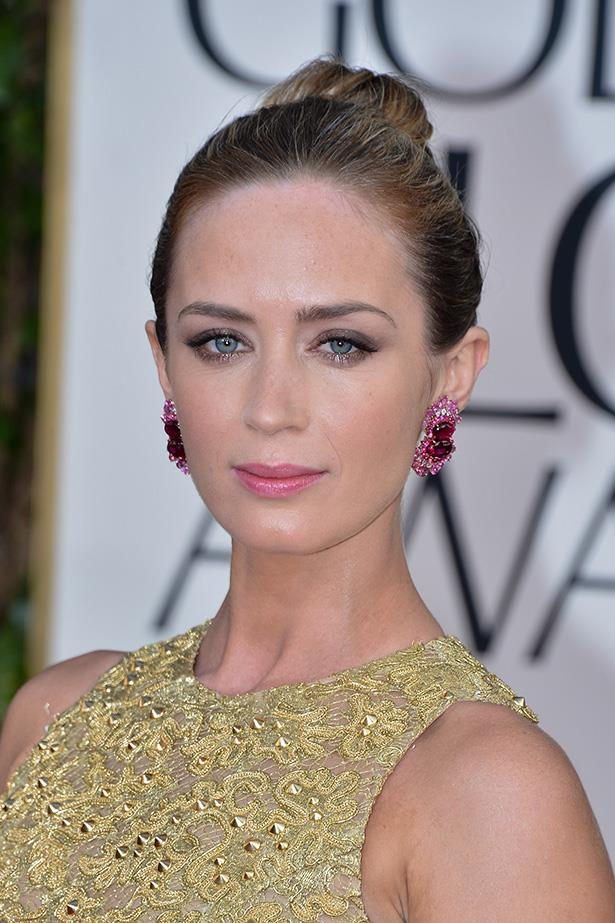 Emily Blunt at the 70th Annual Golden Globes in 2013.