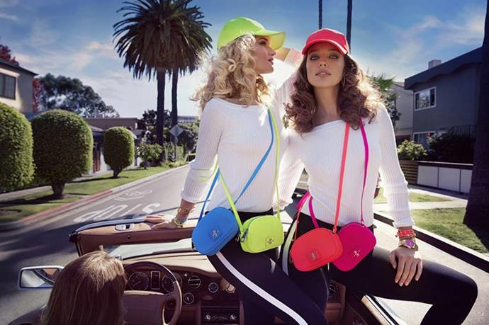 Rosie Huntington-Whiteley and Emily DiDonato star in Juicy Couture's SS14 campaign.