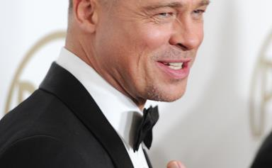 Brad Pitt explains his edgy new 'do