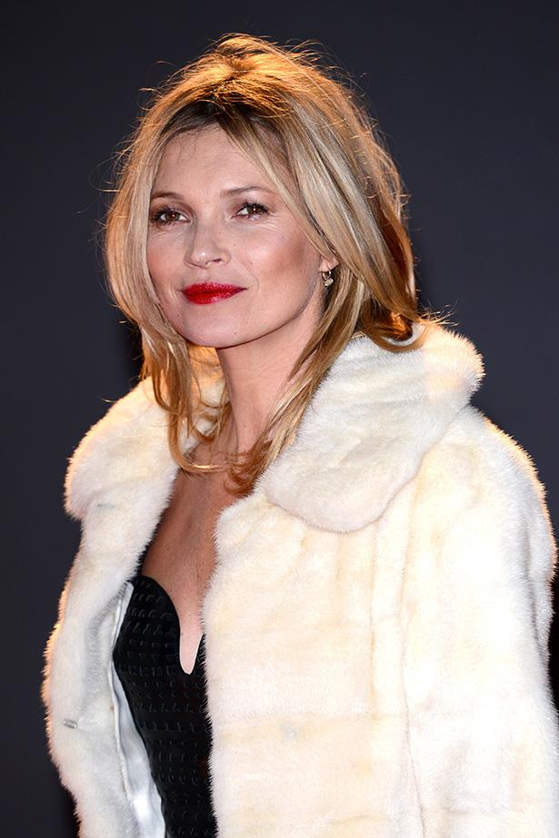 Supermodels over 40: Kate Moss <br> Age: 40<br> Kate Moss was discovered at just 14 years old, by Storm Model Management's founder Sarah Doukas. She became a muse to legendary fashion photographer Corinne Day, and came to epitomise the 90s 'heroine chic' look. She's been working consistently for 25 years, and is currently the face of Stuart Weitzman and Alexander McQueen and is the second highest earning model in the world, after Gisele Bündchen.