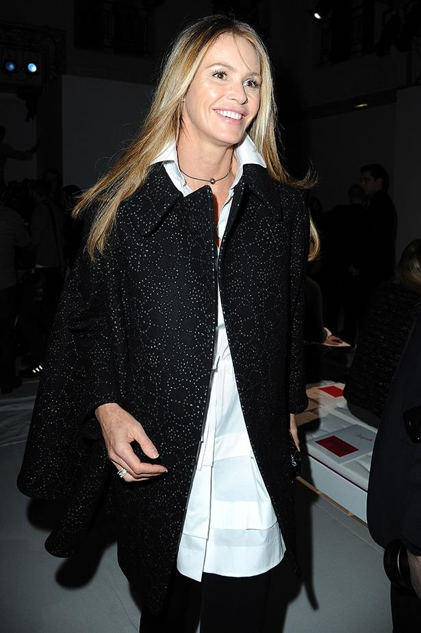 Supermodels over 40: Elle Macpherson <br> Age: 49<br> Perhaps the most iconic Australian alive, Elle 'the body' Macpherson is a model and entrepreneur with a career that has spanned well over 30 years. Lately, Macpherson has been more focused on business than modelling. She is  an executive producer of both Britain and Ireland's Next Top Model, and  NBC's Fashion Star - which she also hosts. Macpherson also has a hugely successful lingerie line, and is the creator of Invisible Zinc.