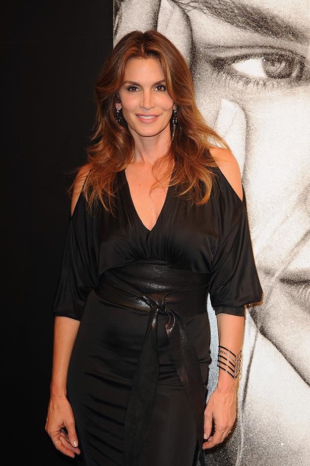 Supermodels over 40: Cindy Crawford <br> Age: 45 <br> The ultimate super model, Cindy Crawford now owns her her own fragrance and home wares line. Crawford was named the 'Hottest Woman Of All Time' by <i> Men's Health</i>. Crawford officially retired from modelling in 2000, but remains a celebrity ambassador for many brands, including Omega Watches. She is a descendant of Charlemagne.