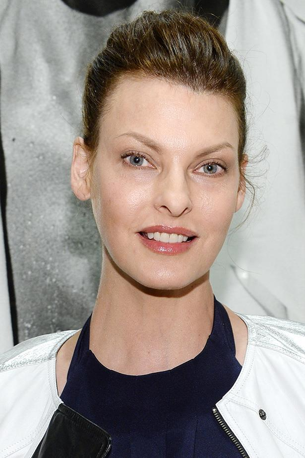 "Supermodels over 40: Linda Evangelista <br> Age: 48 <br> Evangelista was discovered at a beauty pageant and began modelling when she was age 12. Famed for once saying, ""we don't wake up for less than $10,000 a day,""  Evangelista has starred on over 600 magazine covers and as the face of L'Oreal Paris and Prada. <p>Related link<br> <a href=""http://www.elle.com.au/beauty/trends/2013/12/supers-beauty/naomi-then/"">Supermodel beauty: then and now</a>"