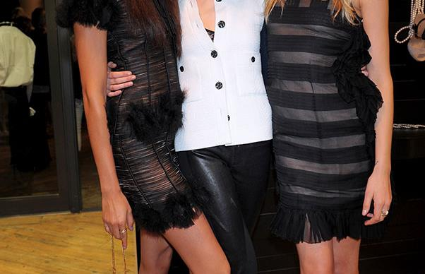 Joan Smalls, Cara Delevingne and Lily Donaldson