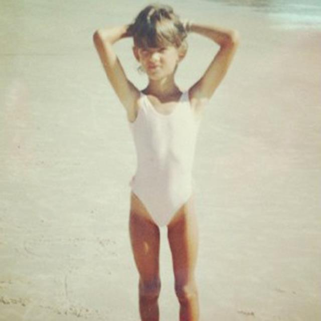 <strong>Alessandra Ambrosio</strong><br> Fast forward a decade and the Brazilian-born beauty would be standing on a beach in the exact same pose, albeit wearing a significantly skimpier swimsuit.