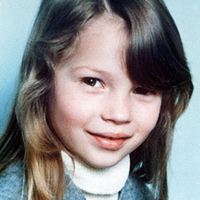 <strong>Kate Moss</strong><br> The face that would later front a thousand million high-fashion campaigns.