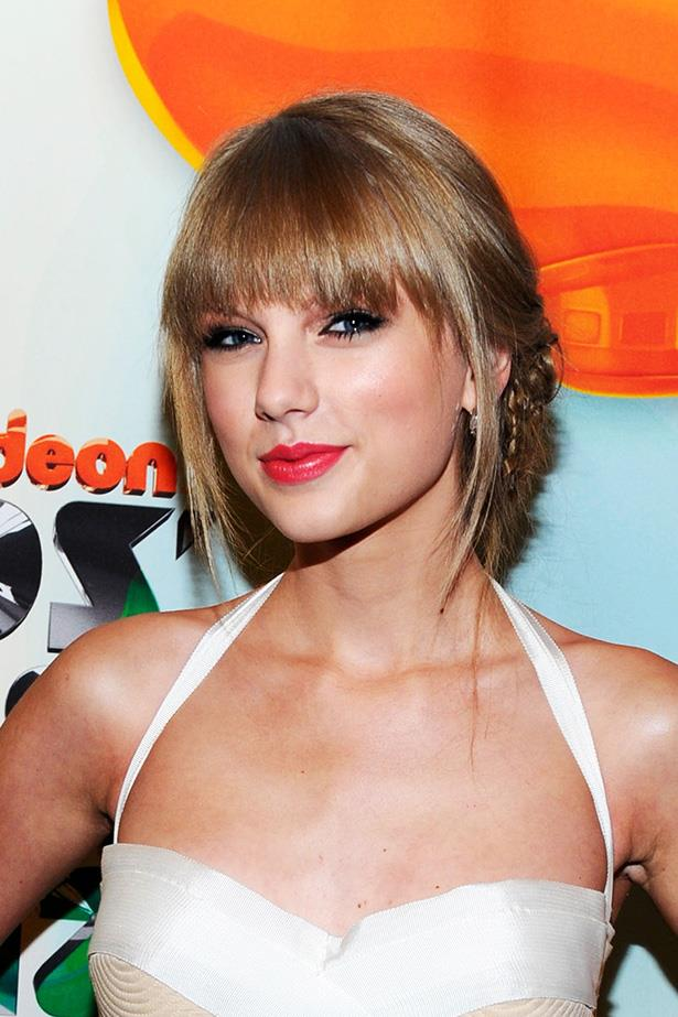 The starlet wore her hair up in intricate plaits at the 2012 Nickelodeon's Kids' Choice Awards.