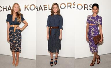 The stars turn out for Michael Kors in New York