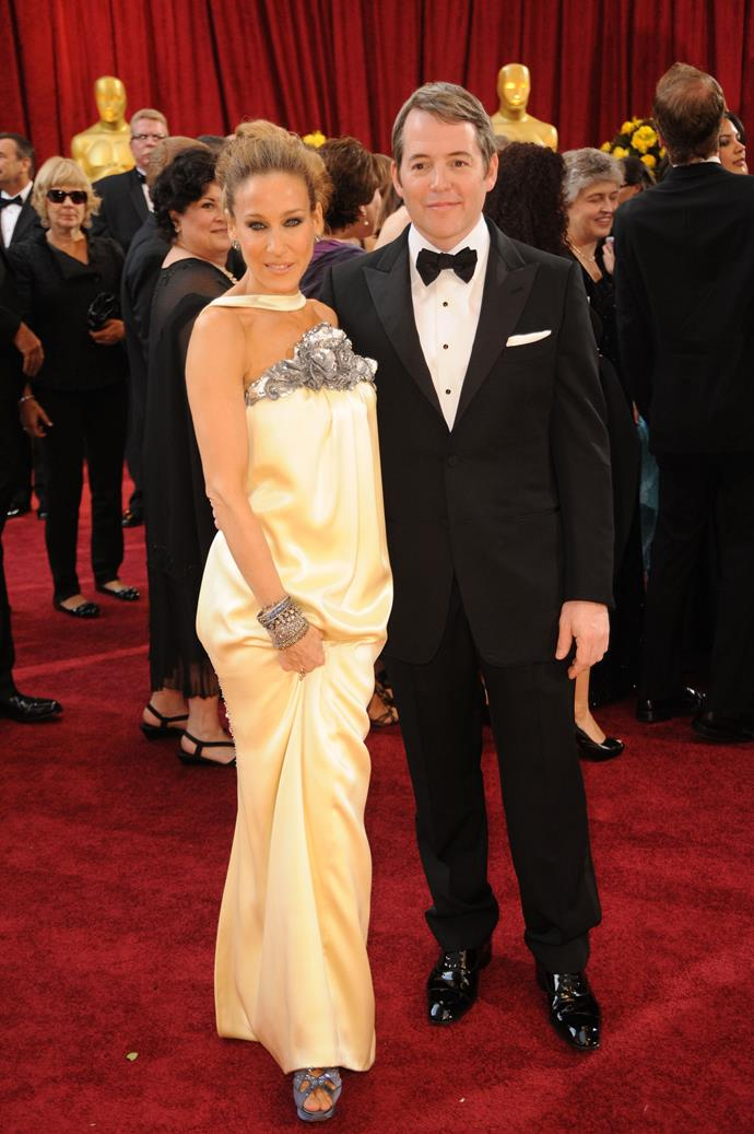 <strong>Sarah Jessica Parker, 2010</strong><br></br> Even with her <em>Sex and the City</em> days behind her, we continue to look to SJP for style direction, and she didn't disappoint at the 2010 awards. Her satin, embellished, Chanel Couture column gown was pure perfection.