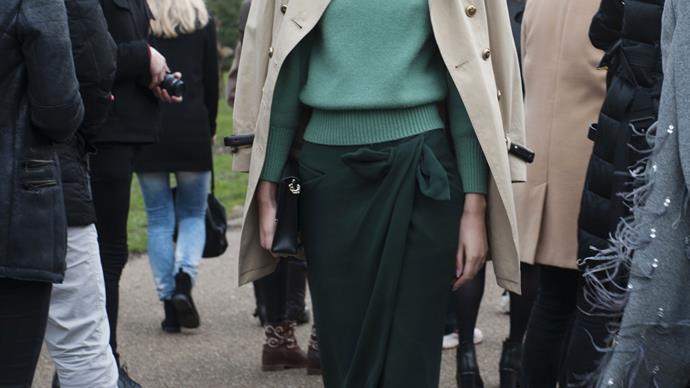 Street style trend: beige outerwear