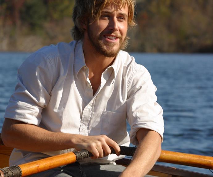 Ryan Gosling in The Notebook