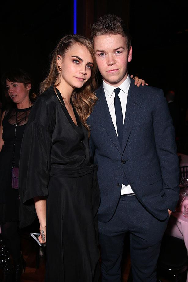 Cara Delevingne and Will Poulter