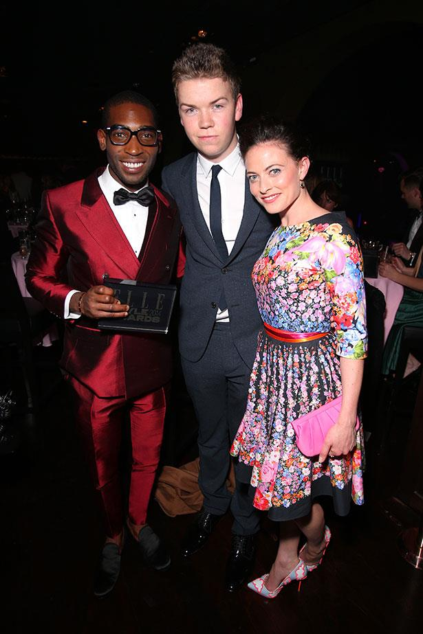 Tinie Tempah, Will Poulter and Laura Pulver