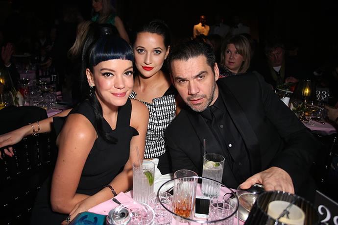 Lily Allen and Roland Mouret