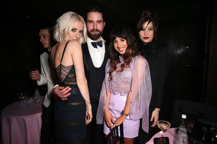 Portia Freeman, Jack Guinness, Foxes and Daisy Lowe