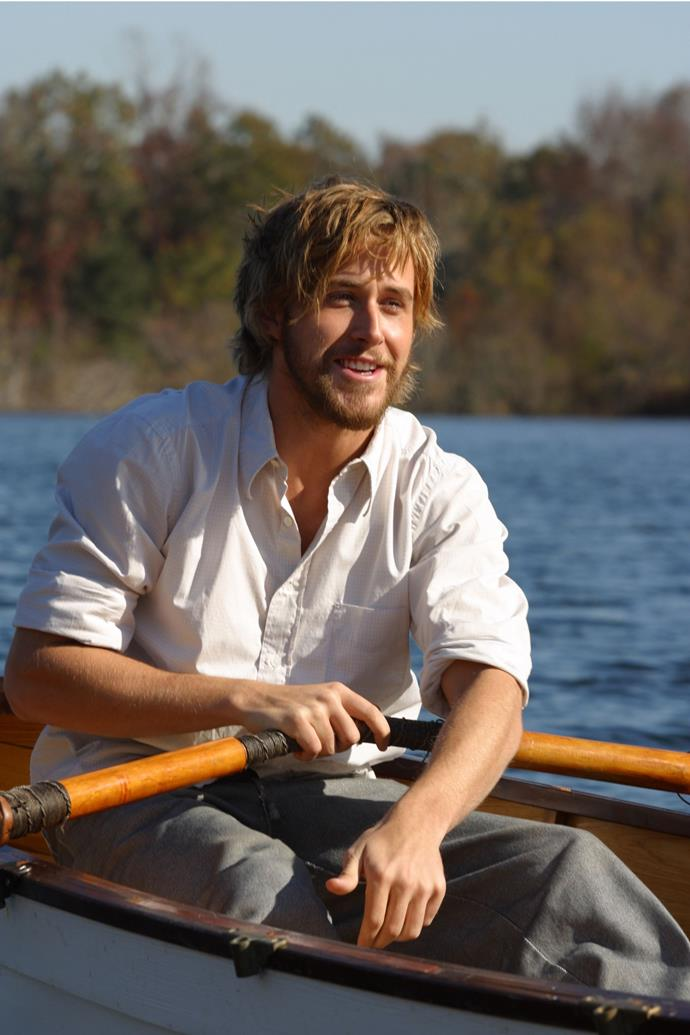 <strong>The Notebook</strong><br> Has there ever been a more enviable romance than Ally and Noah's? Sorry Rachel McAdams, but if Ryan's a bird, we are birds.