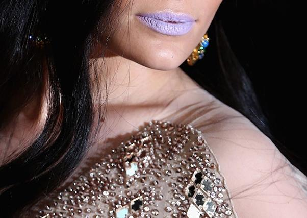 Jessie J wore a lilac lip at the Brit Awards