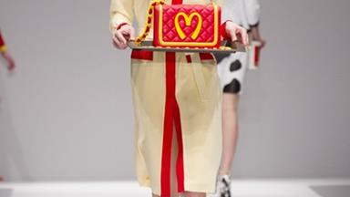 Moschino serves up a McDonald's collection