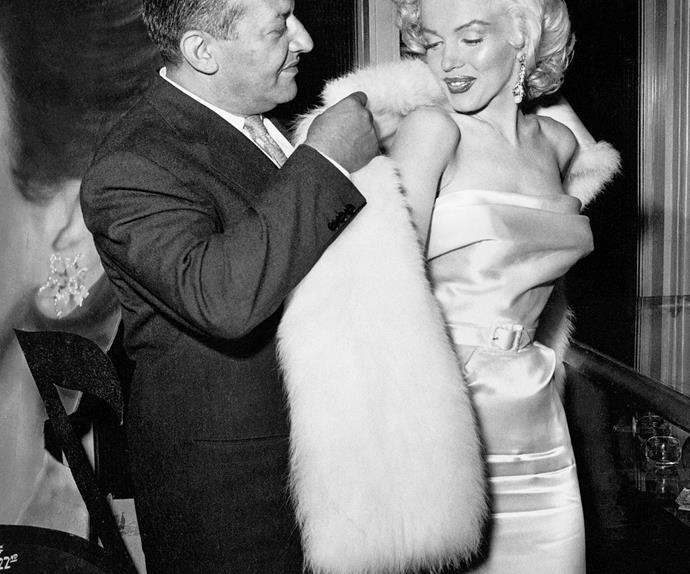Oscars red carpet icons Marilyn Monroe