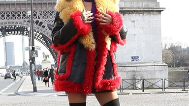 Rihanna does Paris fashion week