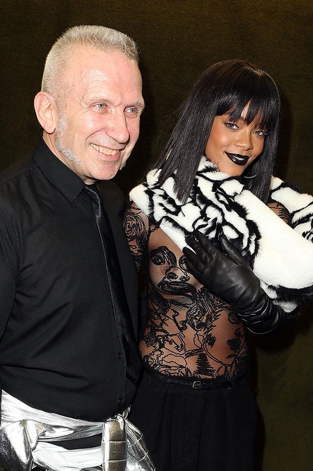 Rihanna with Jean Paul Gaultier