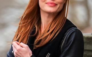 Kate Bosworth with red hair