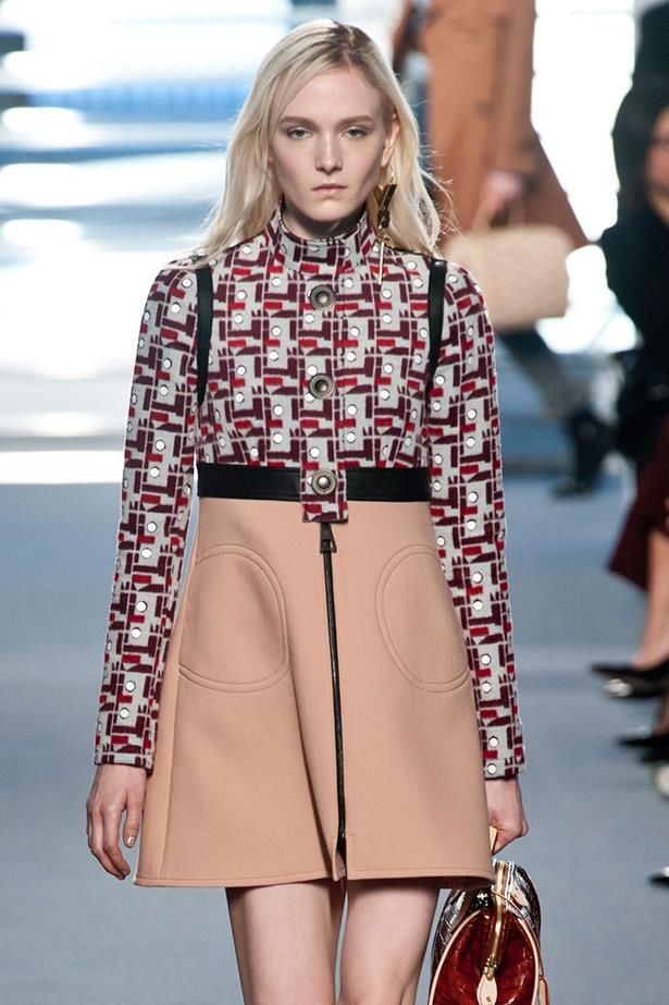 <strong>Maja Salamon</strong> <br> Poland-born Maja Salamon's icy glare had her booked for Louis Vuitton, Saint Laurent, Chanel, Kenzo and was also part of the bleached crew in Prada's SS14 campaign (alongside Ashleigh Good and Ola Rudnicka).