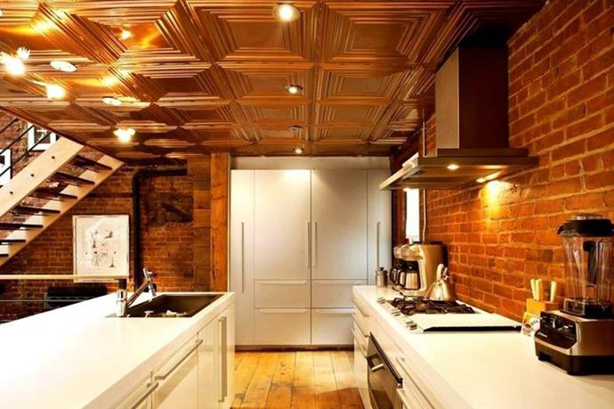 """""""Entertainers dream"""", the house's open kitchen."""