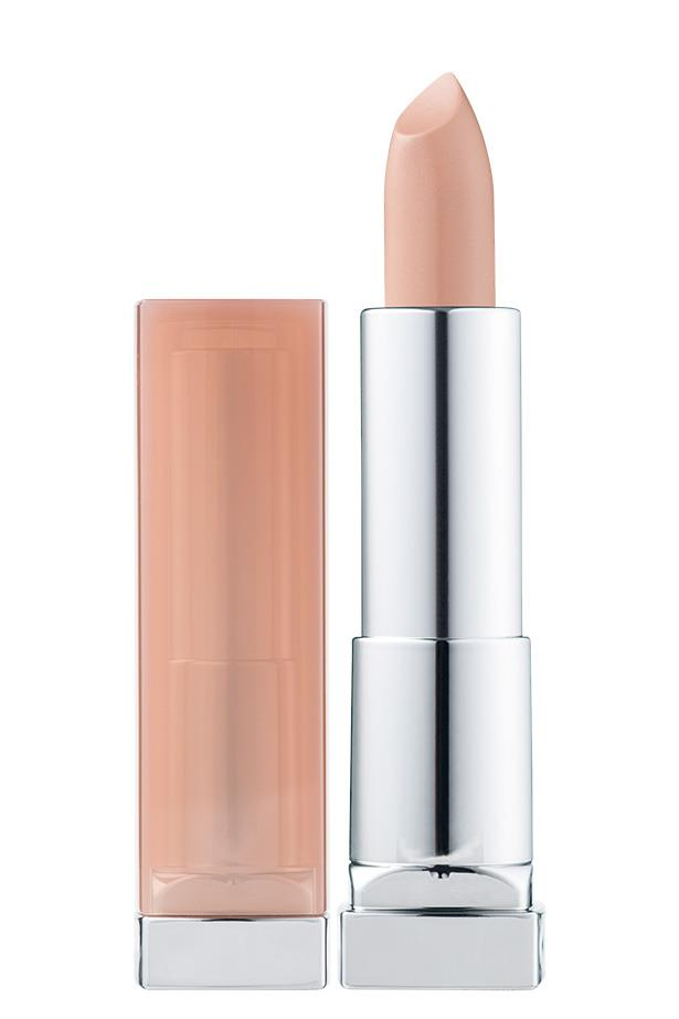 "This matte-finish lipstick is non-drying and a steal at under twenty bucks.<bR><br> Lipstick in 'Honey Beige' by Maybelline, $17.95 at [Priceline](https://www.priceline.com.au/maybelline-color-sensational-stripped-nudes-4-2-g|target=""_blank""