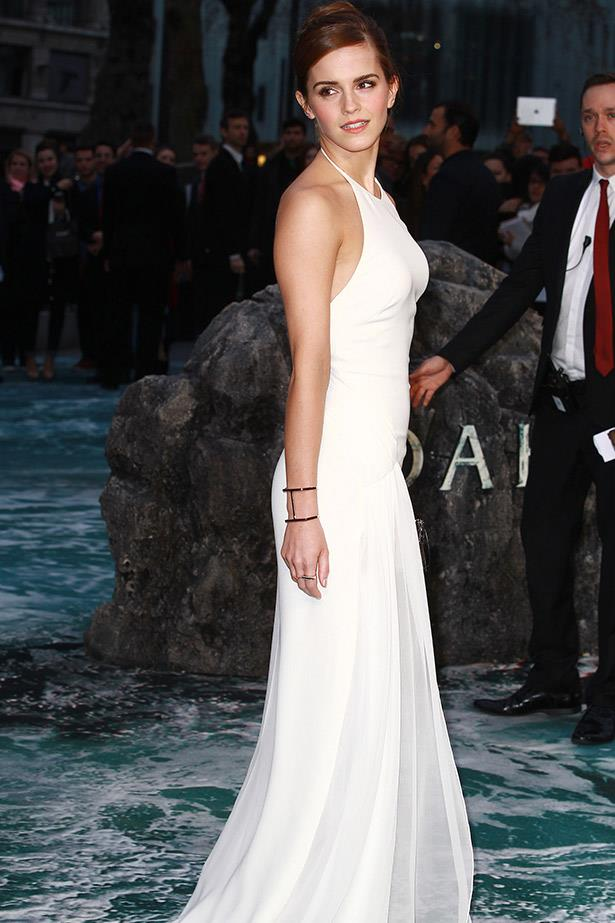 Emma Watson in Ralph Lauren at the London premiere of <em>Noah</em>