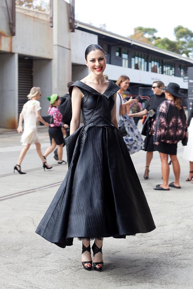 Lisa Di Crescenzo wears Toni Maticevski dress.