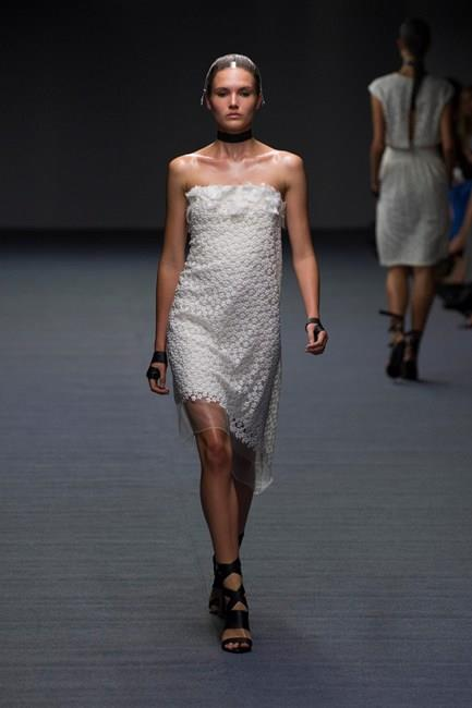 Try these chic column dresses from Carla Zampatti SS14-15
