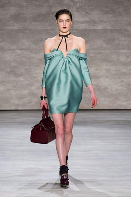 Dare to bare with this off-the-shoulder look from Zimmermann AW14-15