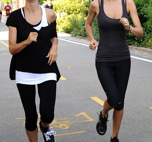 Miranda Kerr and Heidi Klum