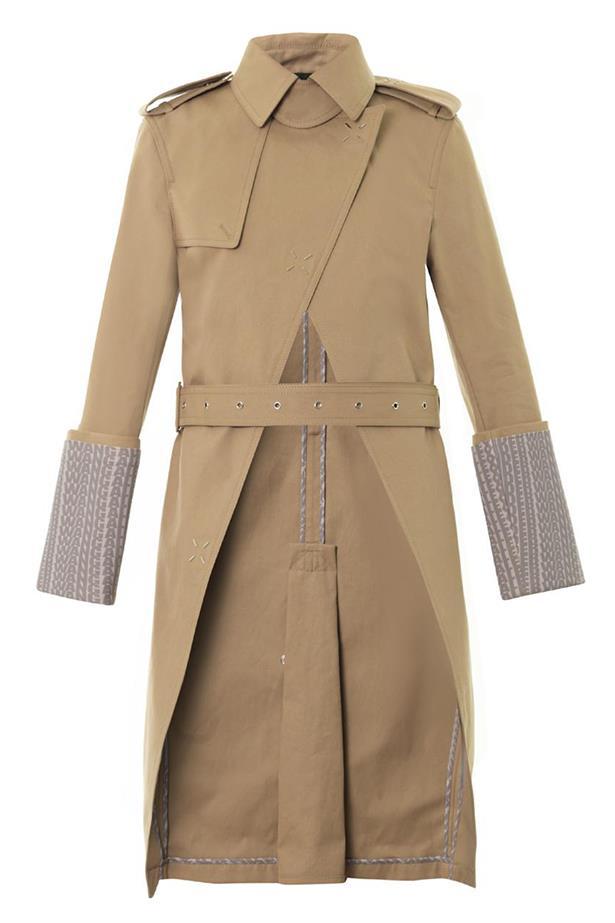 Coat, approx. $2104, Alexander Wang, matchesfashion.com