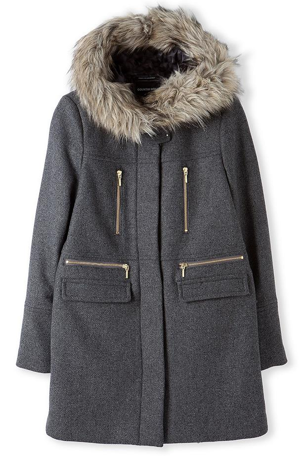 Coat, $399, Country Road, countryroad.com.au