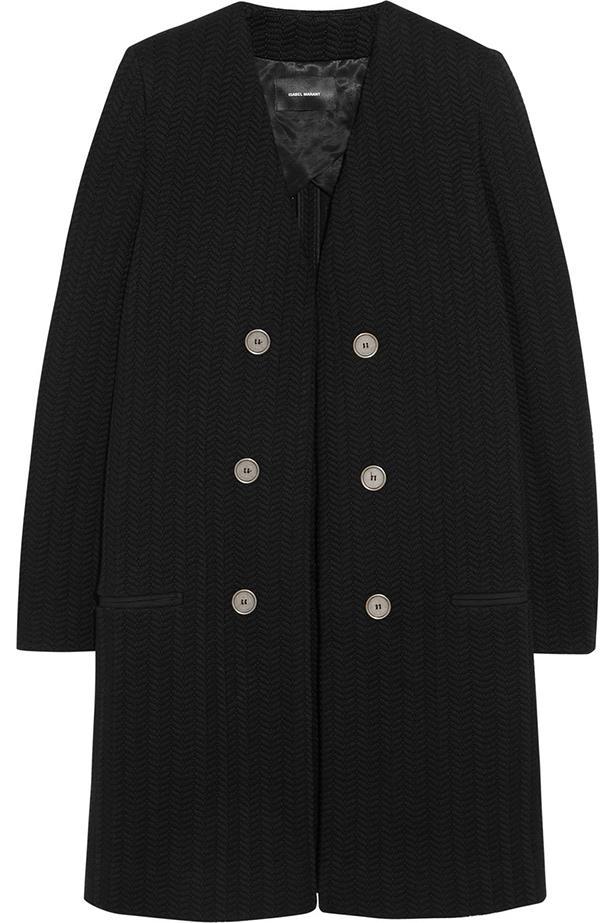 Coat, approx. $995, Isabel Marant, net-a-porter.com