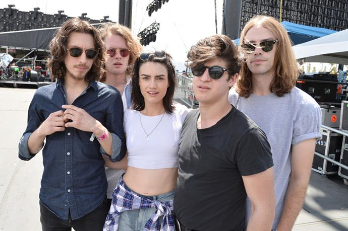"""<strong>The Preatures</strong> <br><br> From their debut 2012 EP <em>Shaking Hands</em> and lead single """"Take A Card"""" – one of the most played local tracks on Australian radio that year – to the Indio desert: Sydney rock and roll outfit The Preatures played in the blazing midday sun to the crowd thronging the Coachella Stage on day one."""